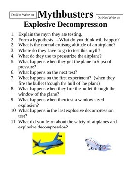 Mythbusters Explosive Decompression