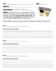 Mythbusters - Science Skills Sheet