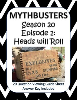 Mythbusters Season 20 Episode 1: Heads Will Roll