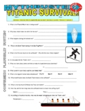 Mythbusters : Titanic Survival (video worksheet)