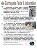 Earthquake 3 Worksheets(Article-Puzzle-Webquest)