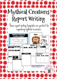 Mythical Creature Report Writing