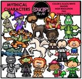 Mythical Creatures Clip Art Bundle (Educlips Clipart}