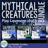 Mythical Creatures Mini Language Unit Bundle
