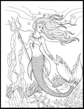 Mythical Creatures Printable Coloring Book Pages For Kids Boys Girls All Ages