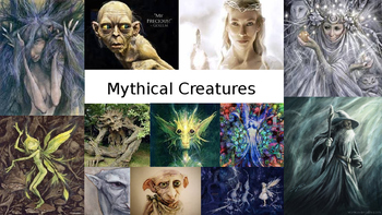 Mythical creatures project