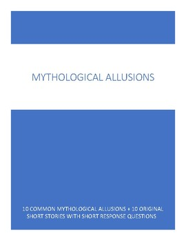 Mythological Allusions - 10 Examples + Original Short Stories