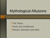 Mythological Allusions- PPT
