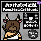 """Mythological Creatures/Monsters """"Up-Words"""" Activity (Version One)"""
