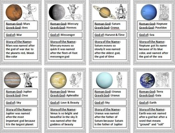 Mythology of the Planets PowerPoint - Solar System PPT, Space Science/ Astronomy