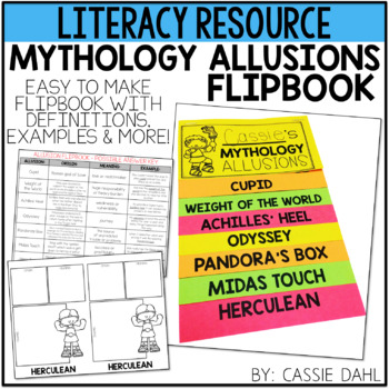 Mythology Allusions Flipbook