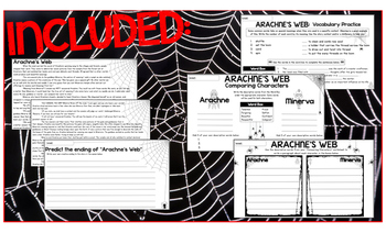 Mythology Arachne's Web Story Study