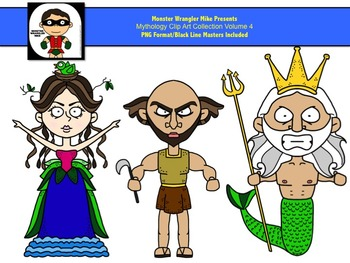 Mythology Clip Art Volume 4