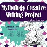 Mythology Creativity Writing Project