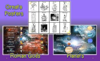 Mythology Etymological Origins of the Planets and Celestial Bodies