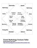 Mythology Fortune Teller