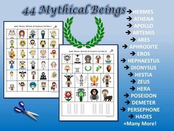 Mythology Greek and Roman Mini-Books Common Core