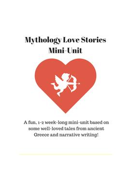"Mythology Love Stories 1-2 Week Mini-Unit - Plus ""My Fair Lady"" add-on"