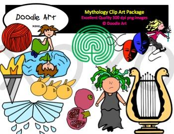 Mythology Mega Clipart Pack