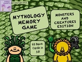 Mythology Memory Game - Just the Monsters & Creatures!