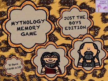 Mythology Memory - Just The Boys!