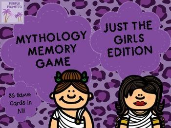 Mythology Memory Game - Just The Girls!!