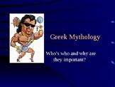 Mythology Myths and Legends