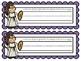 Mythology Nameplates with the Cursive Alphabet ~ 7 Differe