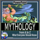 Mythology PowerPoint - What Everyone Should Know From A-Z Distance Learning