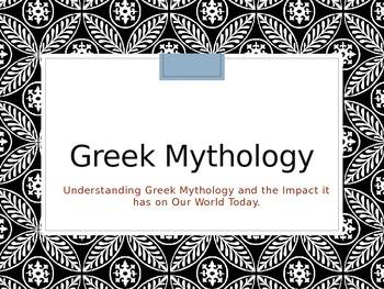 Mythology Powerpoint