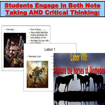Mythology : Powerpoint Hercules