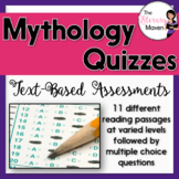 Mythology Quizzes: Text-Based Assessments
