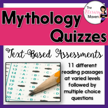 Mythology Quizzes: Text-Based Assessments with Multiple Ch