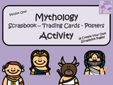 Greek Mythology Scrapbook/Trading Cards/Posters Activity (Version One)