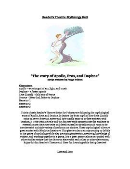 Mythology Scripts: 5 scripts: Full Class Readers Theatre Play