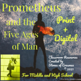 Mythology Series: Prometheus and the Five Ages of Man Bundle (for Grades 7-12)