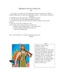 Mythology Trading Card Assignment