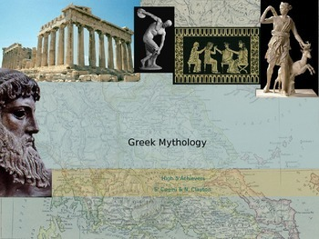 Mythology Unit