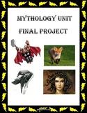 Mythology Unit Final Project
