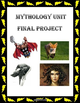 Mythology Unit Final Project