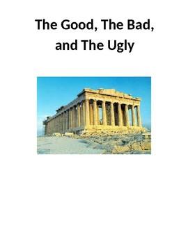 Mythology Unit:  The Good, The Bad, and The Ugly