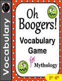 Mythology Vocabulary Game - Oh Boogers!