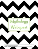 Mythology Webquest and Wanted Poster