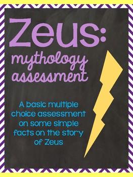 Mythology: Zeus Assessment