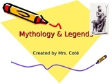 Mythology and Legends Power Point