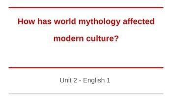 Mythology and Modern Culture
