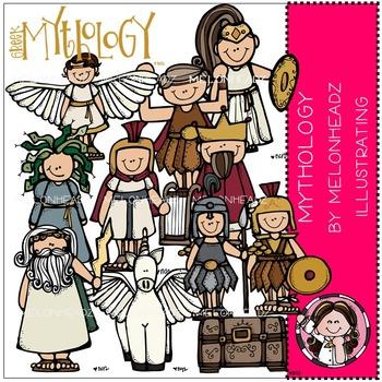 Mythology clip art - COMBO PACK- by Melonheadz