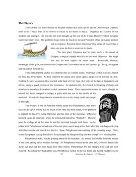 Mythology for Students: Greek, Egyptian, Norse