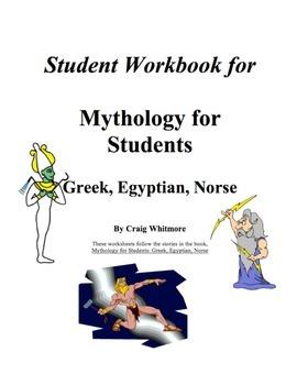 Mythology for Students: Greek, Egyptian, Norse Student Workbook