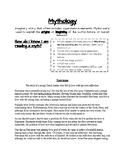 Mythology notes